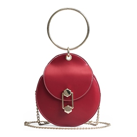 Ericdress Circular Ring Handle Mini Crossbody Bag