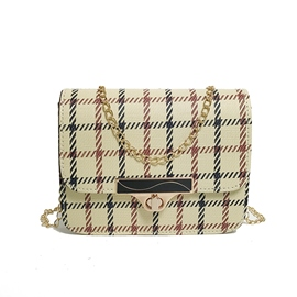 Ericdress Plaid Chain Mini Crossbody Bag