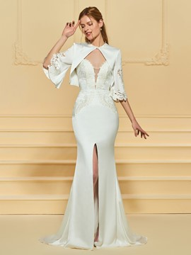 Ericdress Sweetheart Split Front Mermaid Wedding Dress