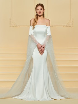 Ericdress Off the Shoulder Mermaid Wedding Dress