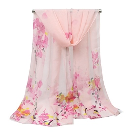 Ericdress Plum Blossom Printed Graceful Scarf