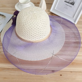 Ericdress Hollow Out Lace Sunhat for Women