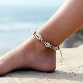 Ericdress Handmade Beads Conch Women Anklet