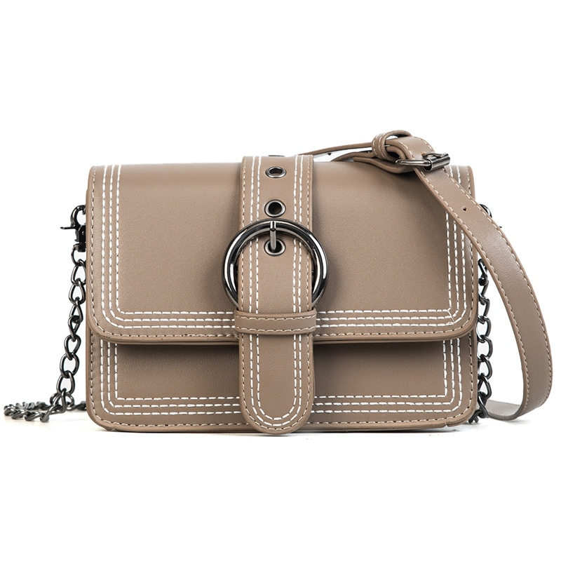 Ericdress Korean Style Belt Decorated Chain Crossbody Bag