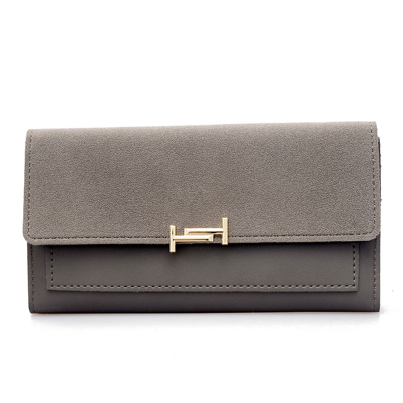 Ericdress Concise Color Block PU Wallet