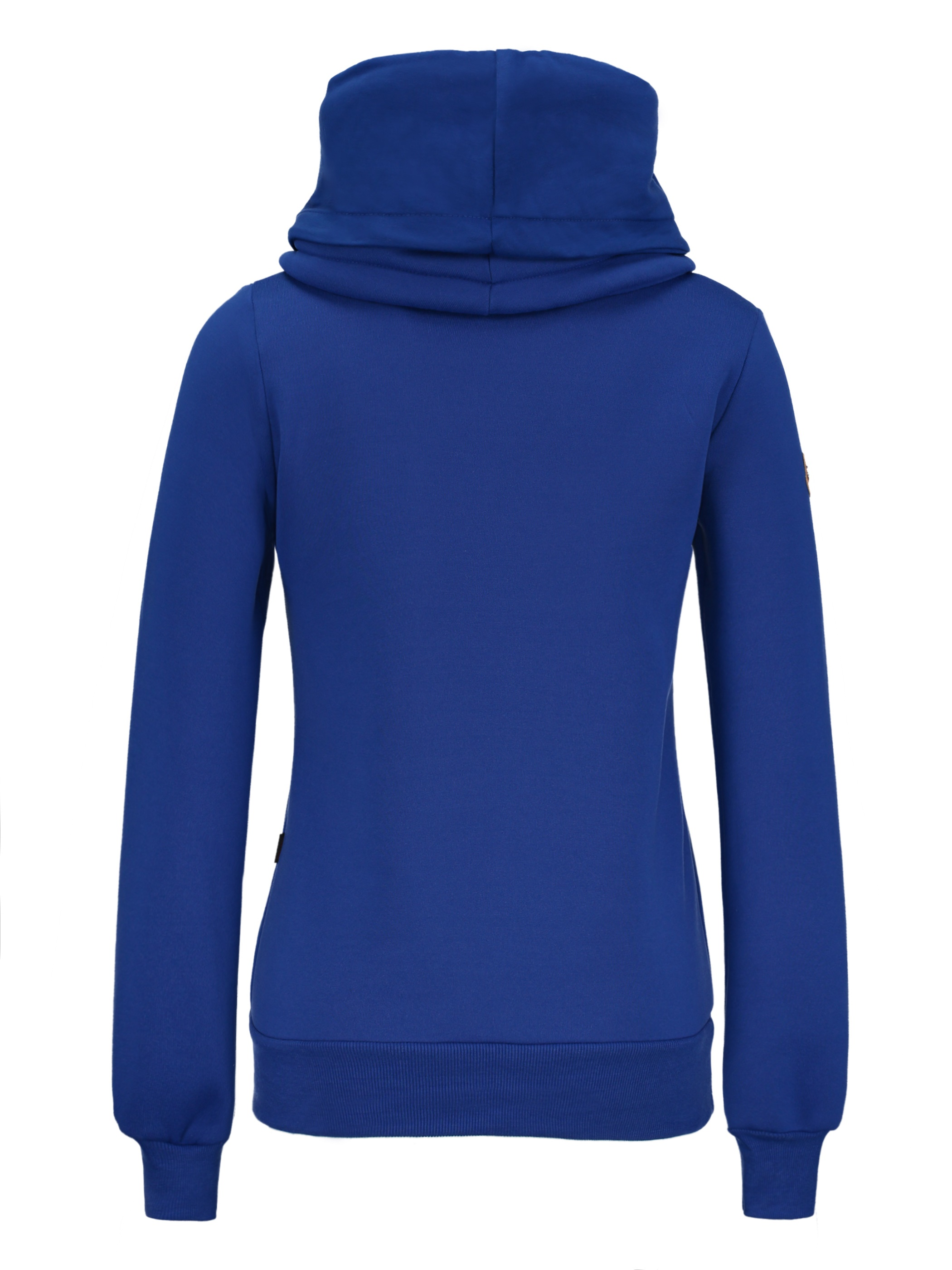 Ericdress Plain Slim Turtleneck Sweatshirt