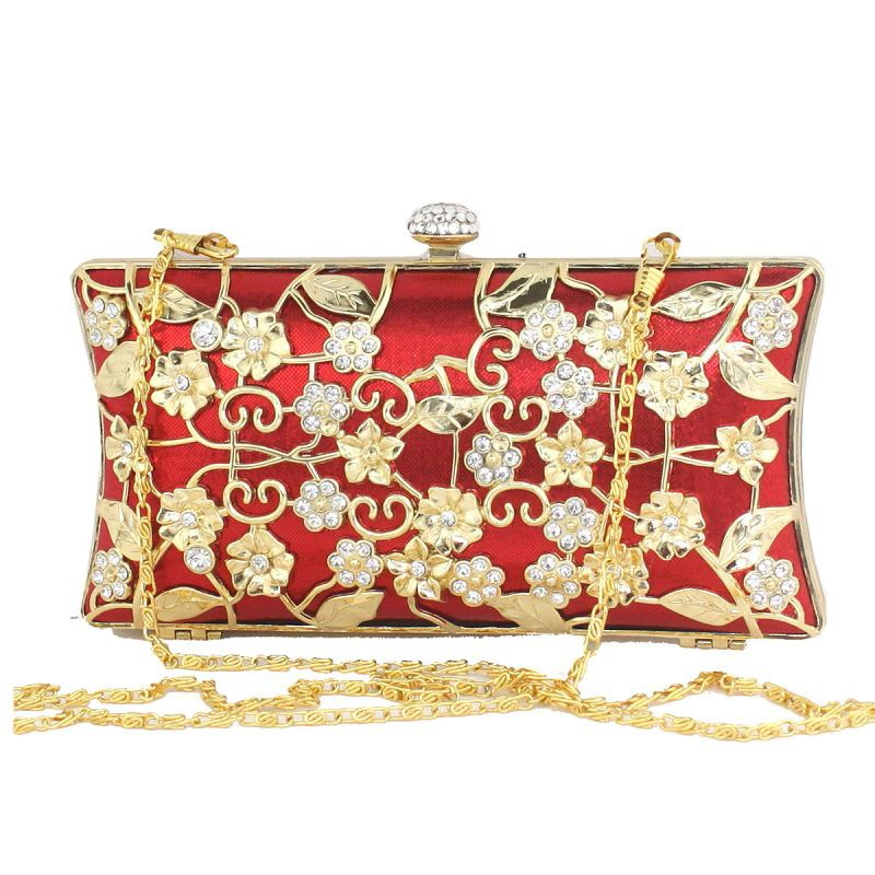 Ericdress Acrylic Floral Pattern Women Clutch