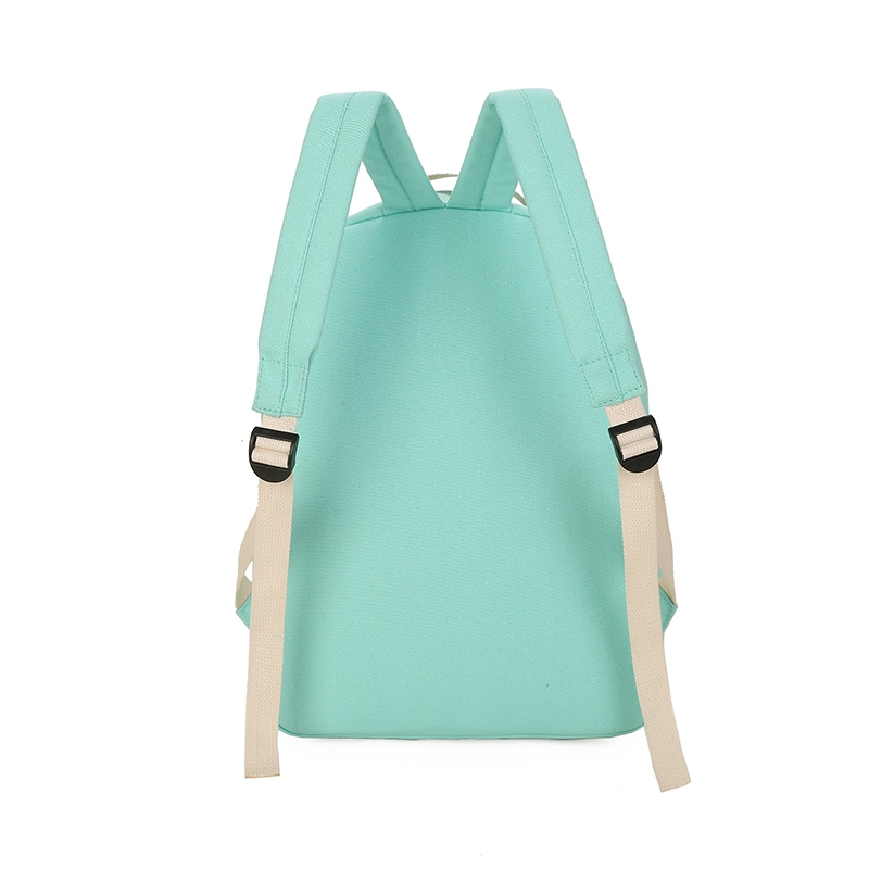 Ericdress Letter Prints Canvas Backpack (Four Bags Set)
