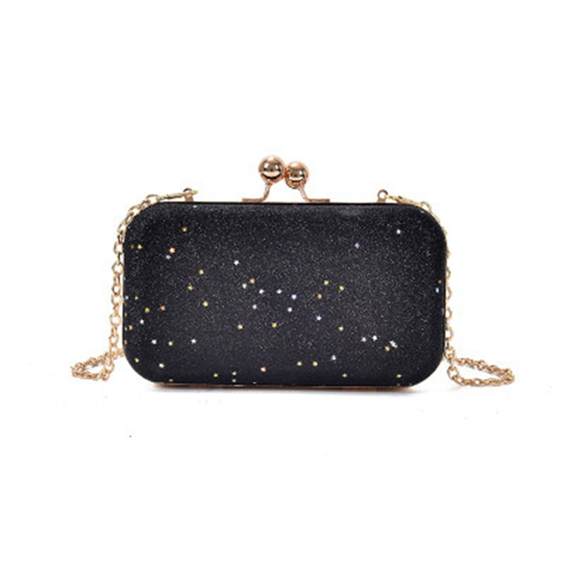 Ericdress Concise Sequins Chain Mini Crossbody Bag