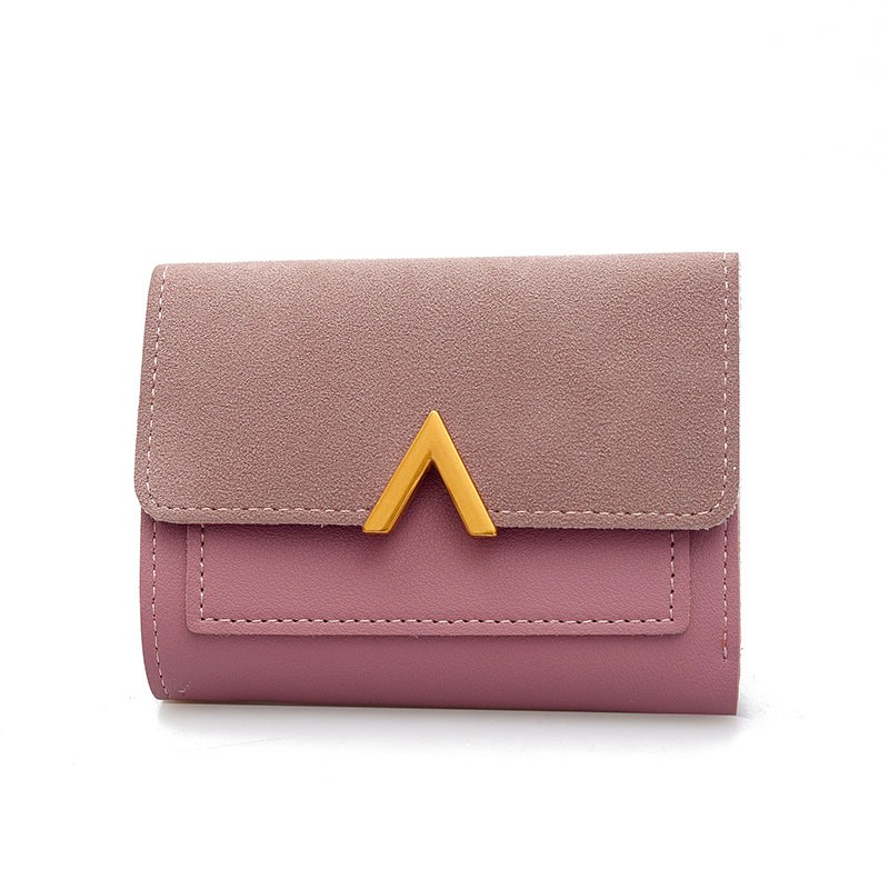Ericdress Color Block Magnetic Snap Wallet