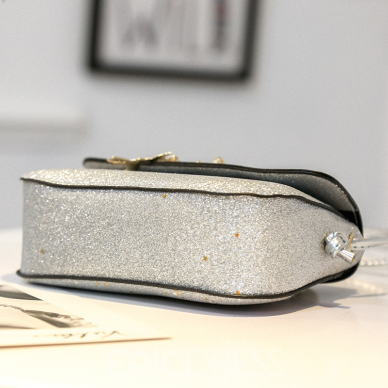 Ericdress Stylish Sequins Mini Crossbody Bag