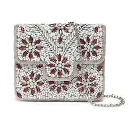 Ericdress Vogue Floral Design Chain Crossbody Bag