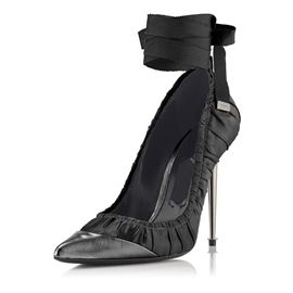 Ericdress Elegant Pointed Toe Lace-Up Stiletto Heel Pumps