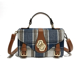 Ericdress Plaid Women Crossbody Bag