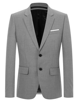 Ericdress Two Button Plain Mens Slim Fit Blazer Jacket