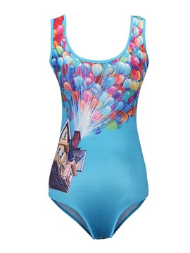 Ericdress Ballon One Piece Swimwear