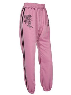 Ericdress Loose Stripe Women's Sport Pants