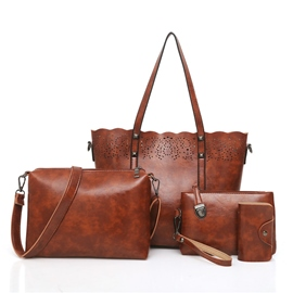 Ericdress Casual PU Women Handbag