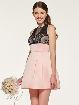 Ericdress A Line Short Bridesmaid Dress