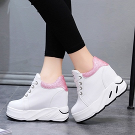 Ericdress Spring Color Block Platform Women's Sneakers