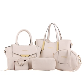 Ericdress Casual Solid Color Women Handbag (5 Bag Set)