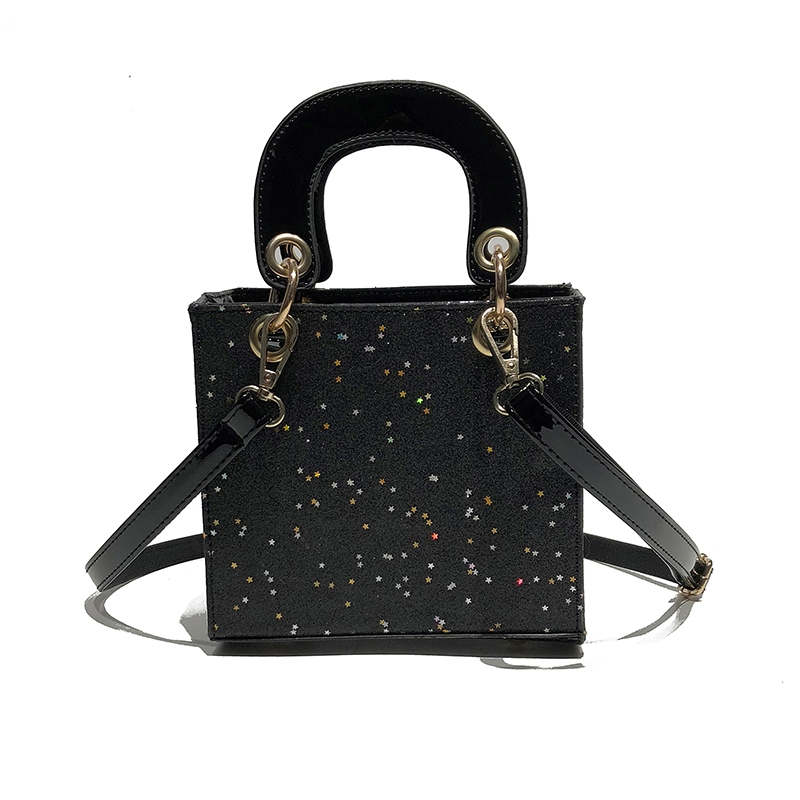 Ericdress Sequins PU Women Crossbody Bag