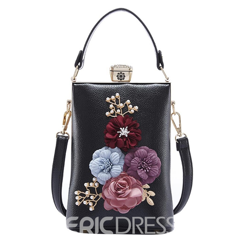 Ericdress Floral Decoration Women Clutch