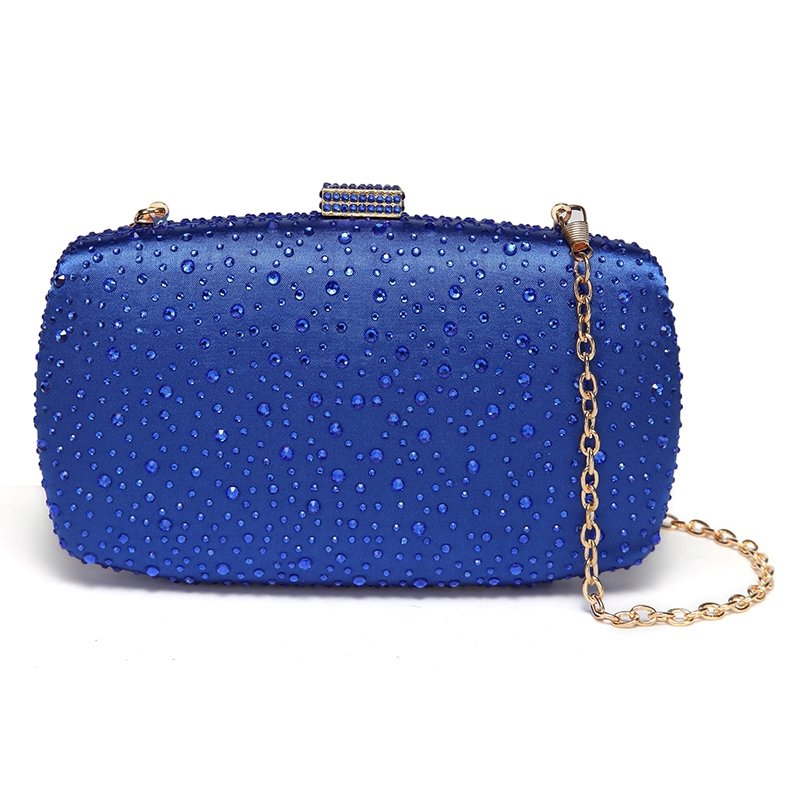 Ericdress Raindrop Design Rhinestone Women Clutch