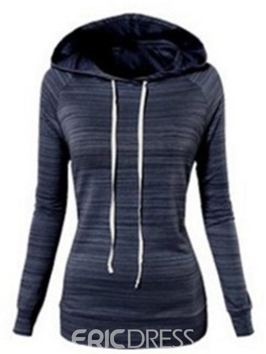 Ericdress Slim Casual Sports Style Cool Hoodie
