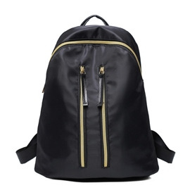 Ericdress Double Zipper Oxford Backpack