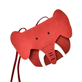 Ericdress Cartoon Elephants Shape Crossbody Bag