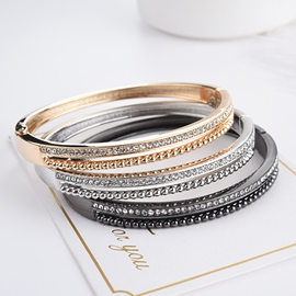 Ericdress Shining Diamante Fashion Bracelet For Women