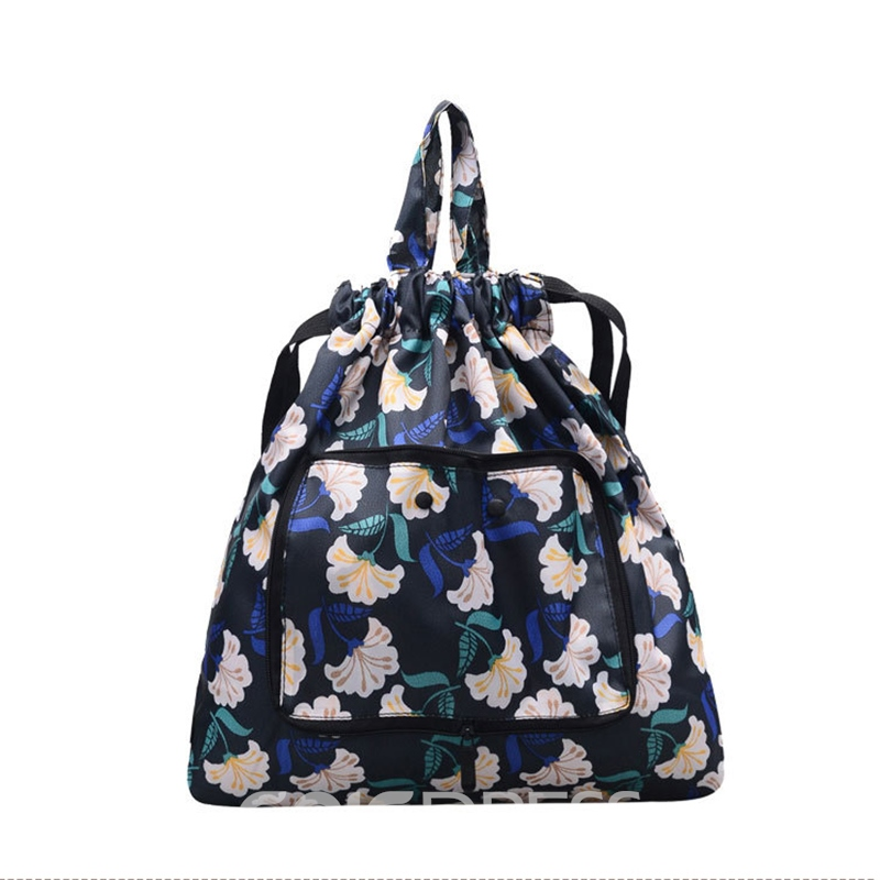 Ericdress Casual Prints Oxford String Backpack