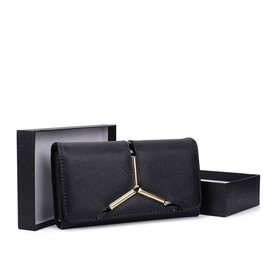 Ericdress Long Type PU Women Wallet