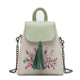 Ericdress Casual Floral Decoration Women Backpack