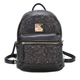 Ericdress Sequins Color Block Women Backpack