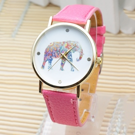 Ericdress Glass Water Resistant Watch