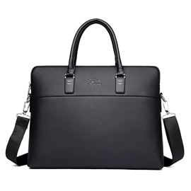 Ericdress Business Style PU Men's Backpack