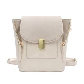 Ericdress Vogue Solid Color Cross Body Bag