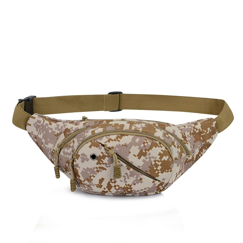 Ericdress Camouflage Pattern Nylon Men's Waist Pack