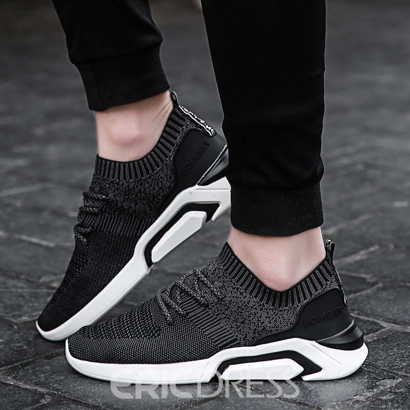 Ericdress Comfy Mesh Round Toe Men's Athletic Shoes