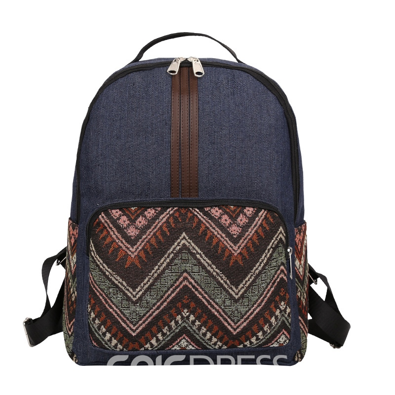 Ericdress Color Block Prints Women Backpack