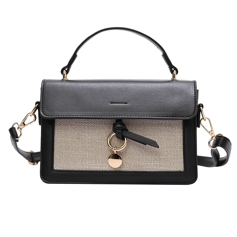 Ericdress Chic Color Block Women Crossbody Bag