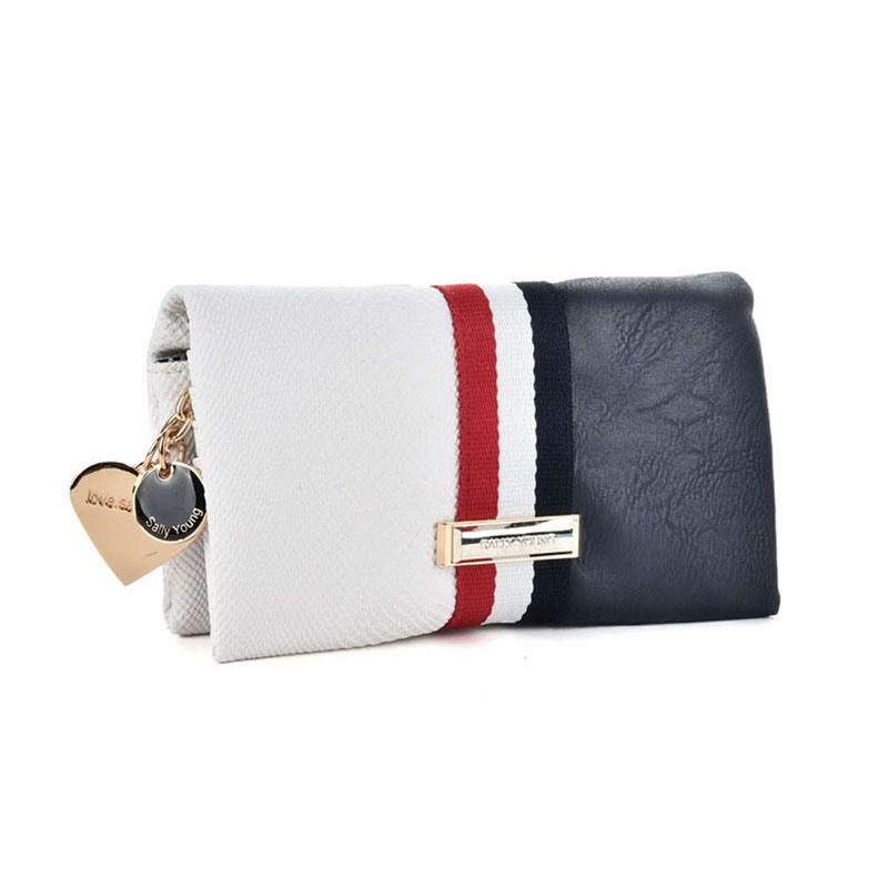 Ericdress Tong Type Color Block PU Wallet