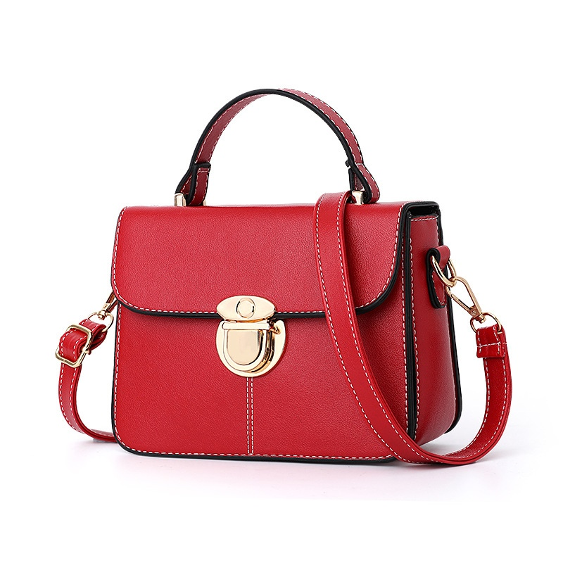 Ericdress Chic Latch Decoration Women Crossbody Bag