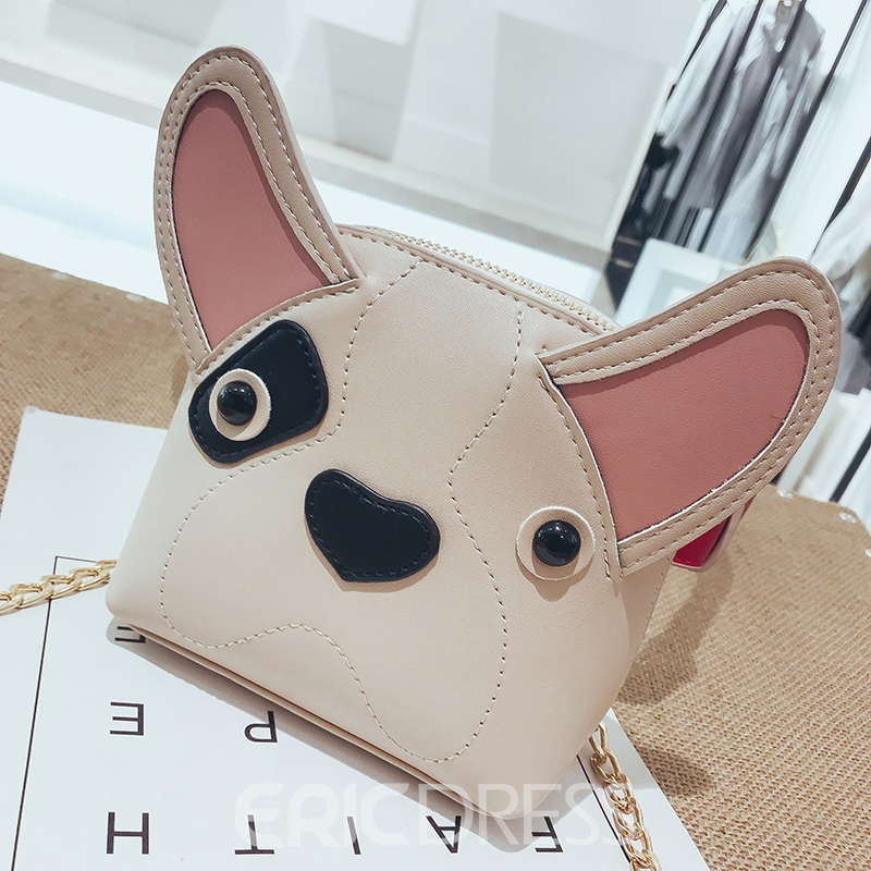 Ericdress Lovley Cartoon Animal Shape Mini Crossbody Bag