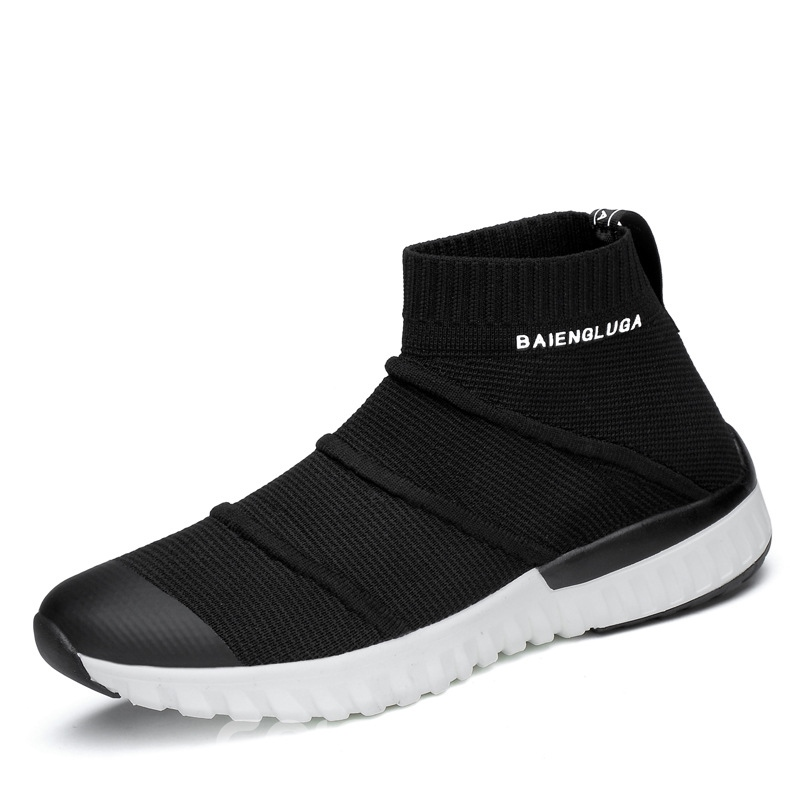 free shipping fashionable shopping online free shipping Fashion Round Toe Plain Men's Sock Sneakers cheap sale sale fake sale online marketable for sale zLlnewML