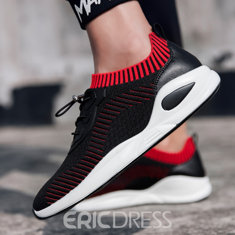 Ericdress Trendy Mesh Elastic Band Men's Athletic Shoes