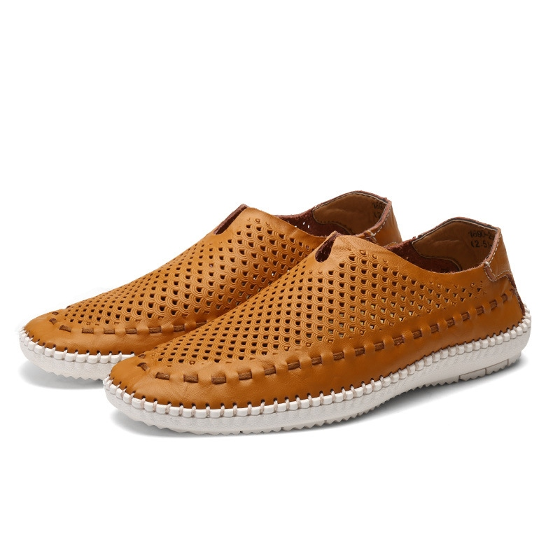 Ericdress Breathable Round Toe Slip-On Men's Loafers