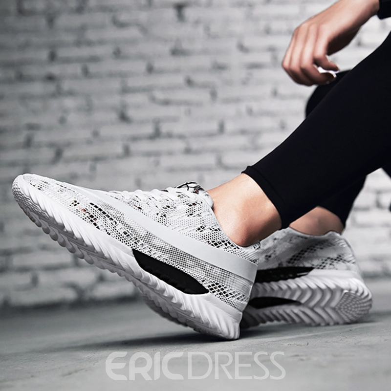 Ericdress Fashion Camouflage Round Toe Patchwork Men's Athletic Shoes